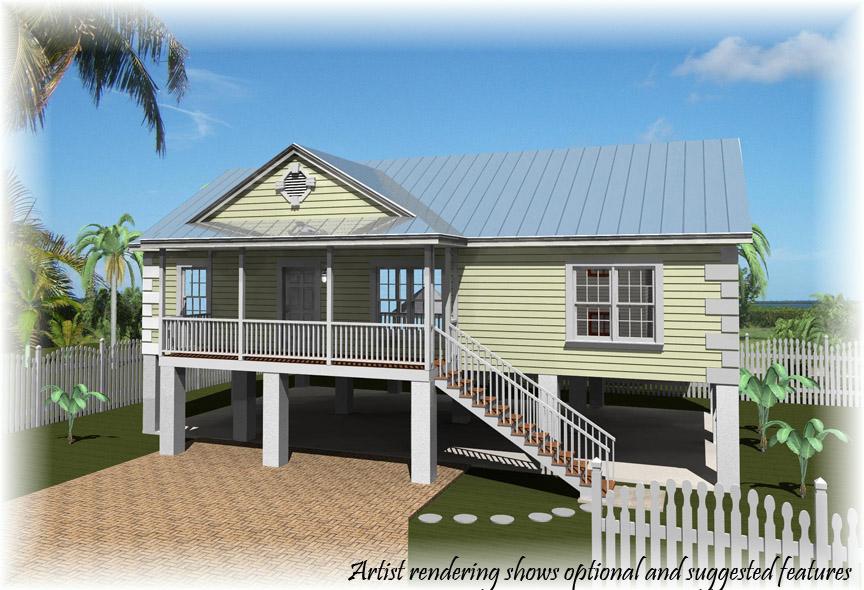 Stilt House Plan
